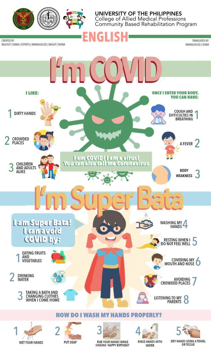 Teaching kids how to protect themselves from #Coronavirus ...
