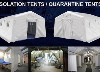 Quarantine tents