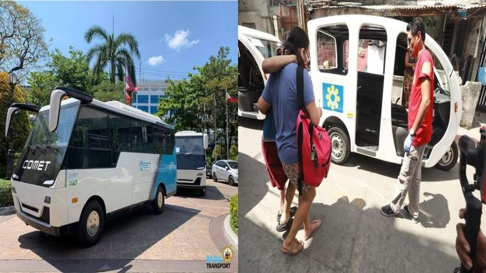 Pasig City E-trikes E-bus free rides