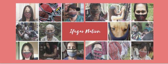 Ifugao weave face masks