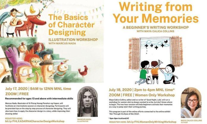 Filipinas Heritage Library free workshops