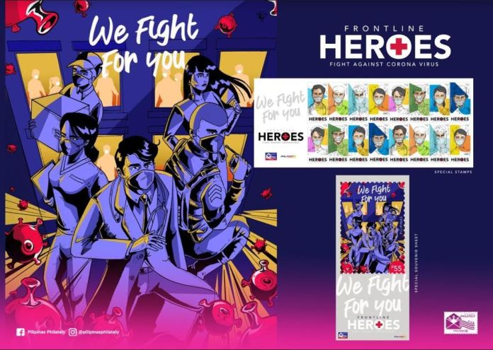 Philippine Stamps COVID-19 frontline workers