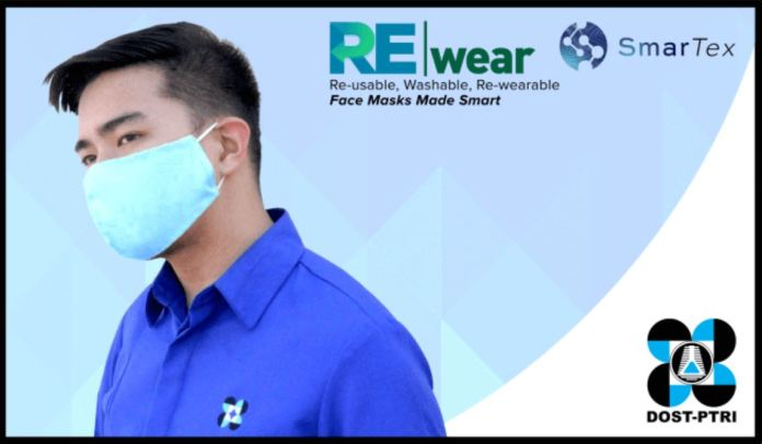 DOST REwear face mask