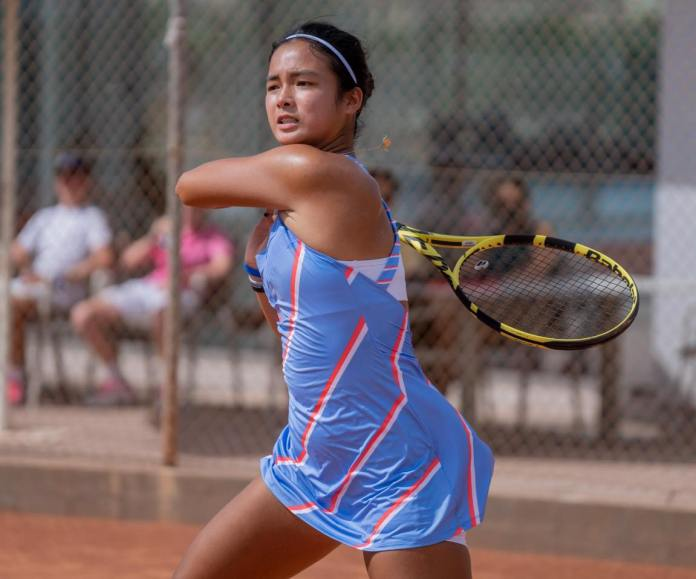 Alex Eala 1st tennis competition