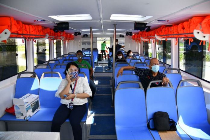 Free Pasig River Ferry for frontliners