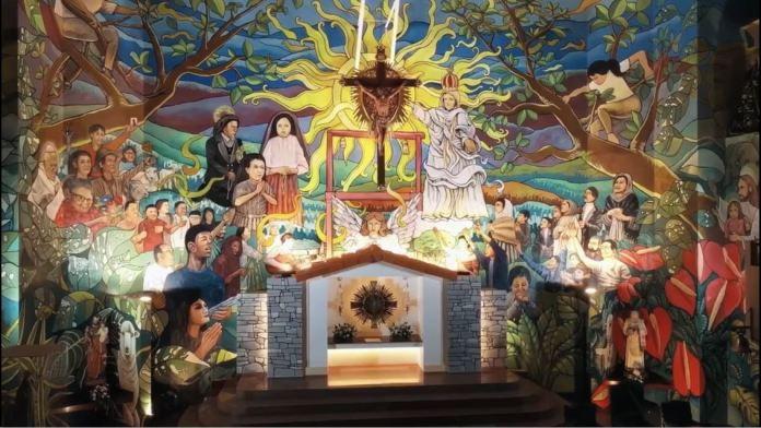 Biggest Altar Mural in Philippines COVID-19