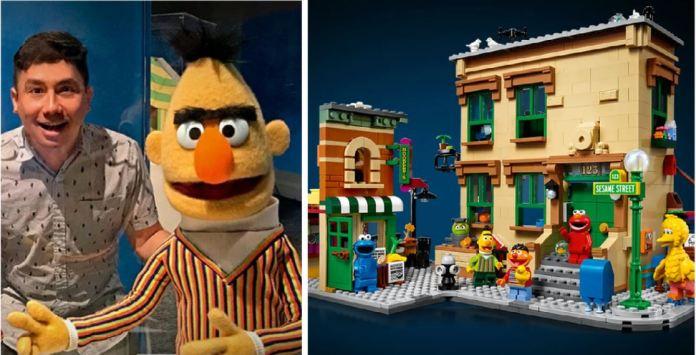 Sesame Street LEGO Ivan Guerrero