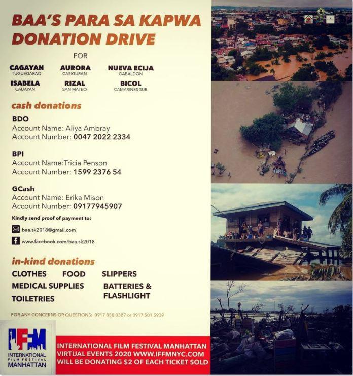 International Film Festival Manhattan benefits typhoon victims