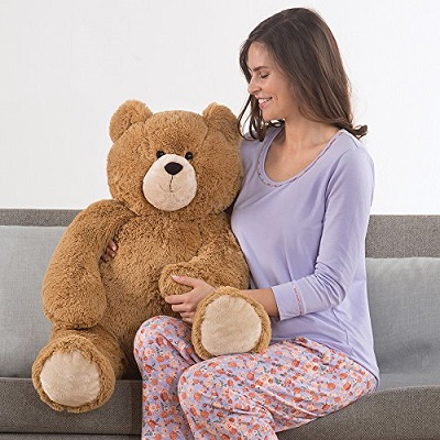 desktop profile with gril of teddy bear