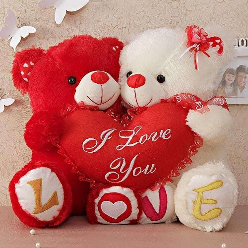 love teddy bear photo