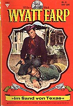 Image result for Wyatt Earp (Romane) 2. Im Sand von Texas