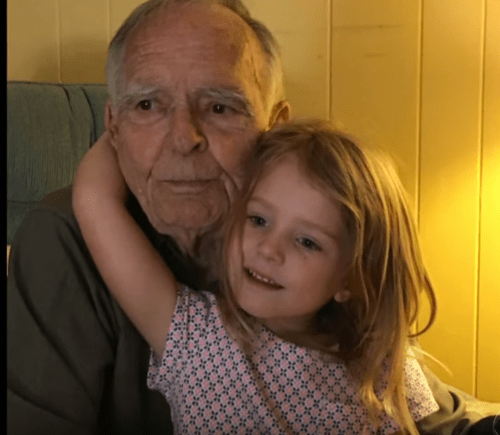 Four Year Old Girl Angel For Old Man