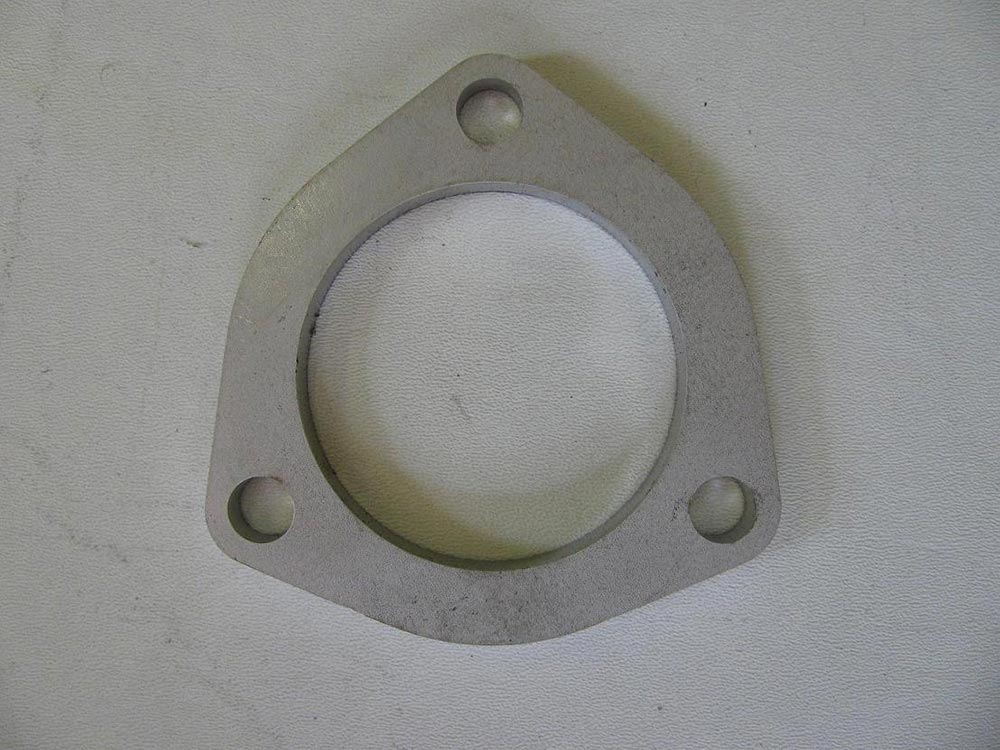 exhaust flange 2 5 3 bolt stainless steel