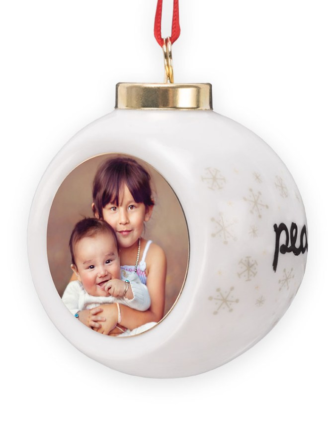 photo globe ornament