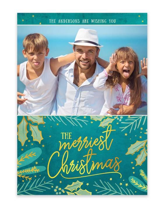 Fun family christmas cards