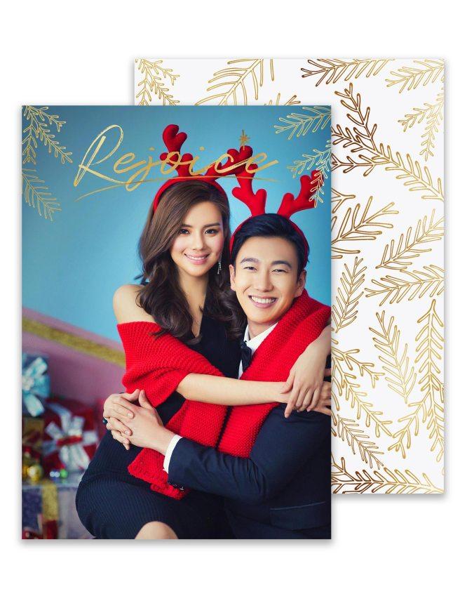 rejoice! christmas photom card