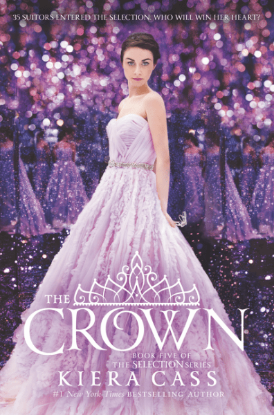 The_Crown by Kiera Cass book cover