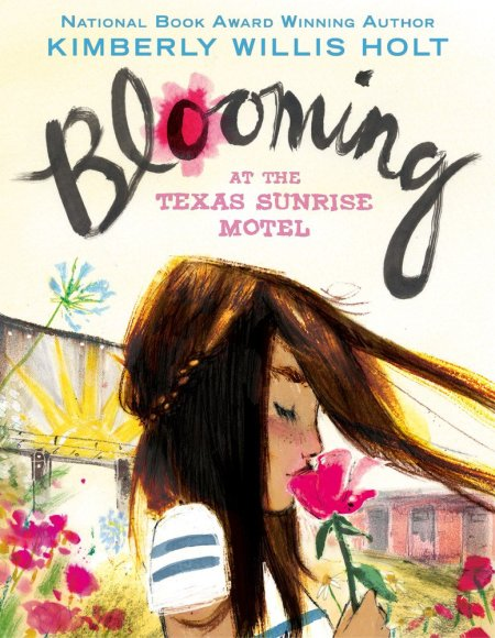 cover image for Blooming at the Texas Sunrise Motel
