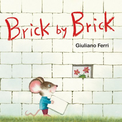 Brick by Brick board book cover