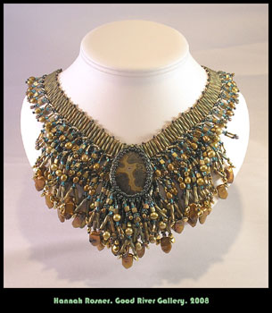 Bead Woven Wide Collar Pattern