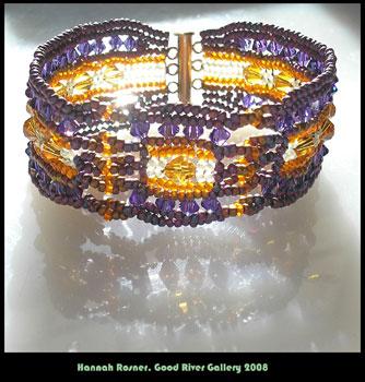 bead pattern ndebele stitch bracelet