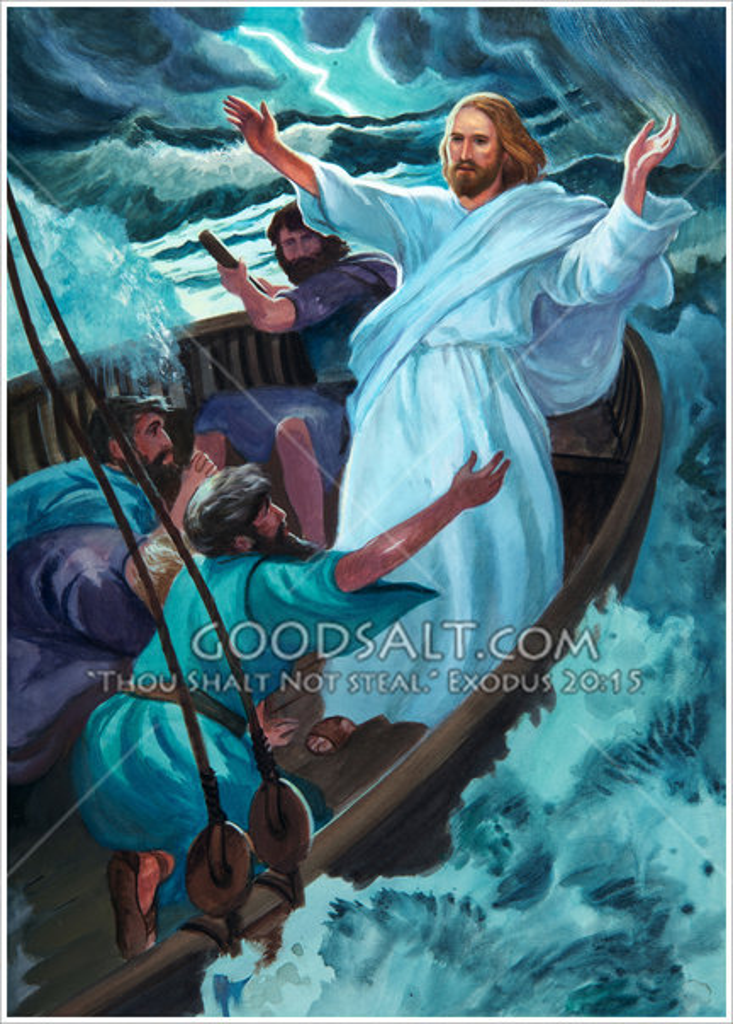 Storm Over Sea Galilee