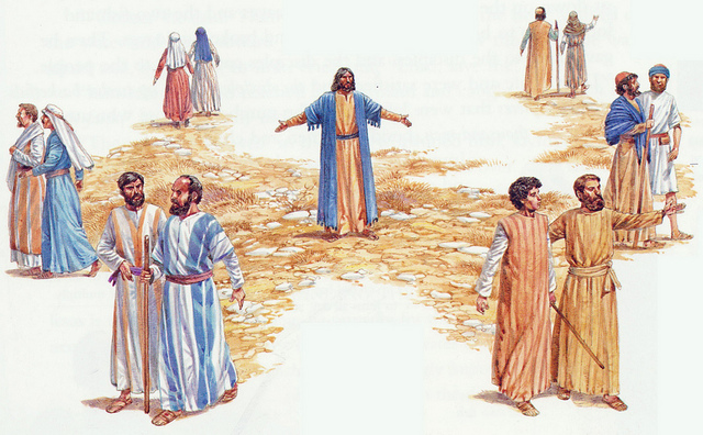Image result for JESUS SENDING OUT THE DISCIPLES