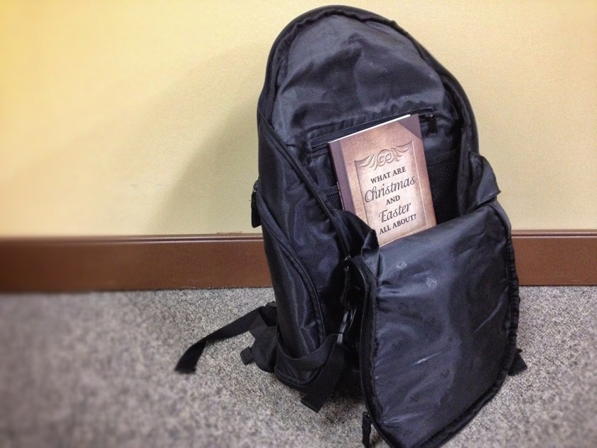 A book in your workbag