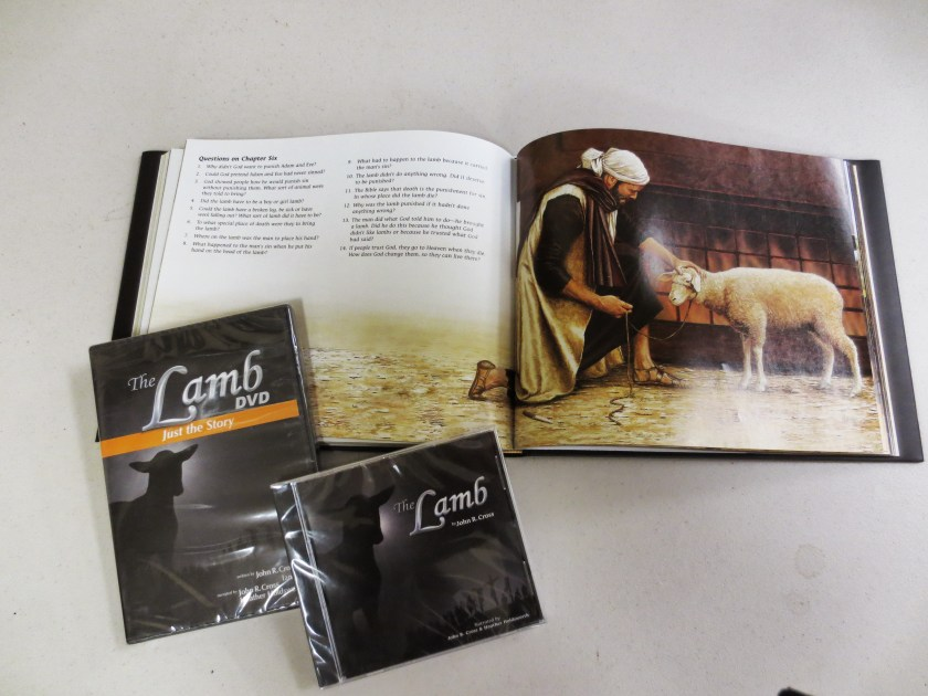 The Lamb, DVD edition and audio edition