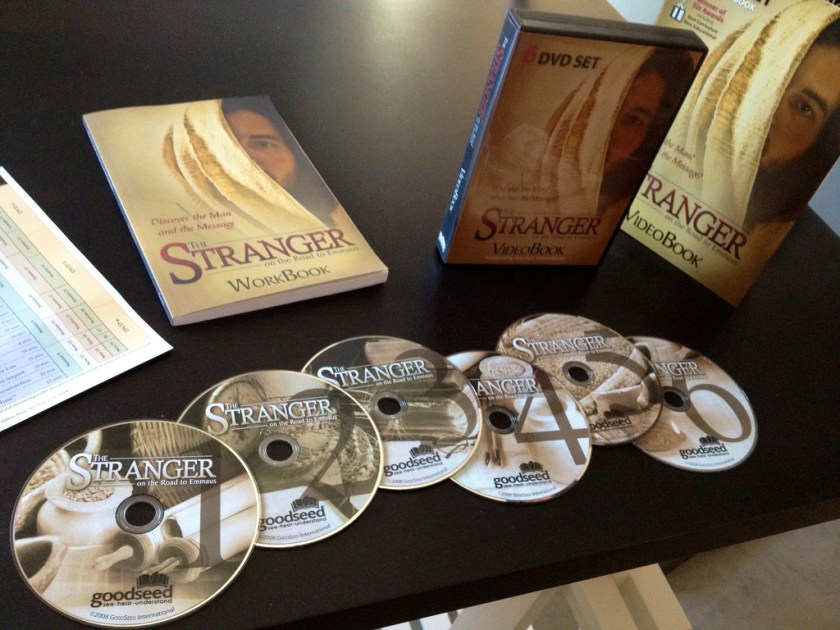 """""""The Stranger on the Road to Emmaus"""" DVD"""