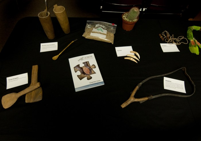 Artifacts from the Manjúi tribe