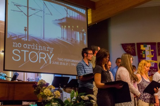 No Ordinary Story choir presentation
