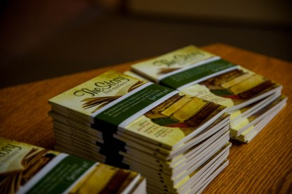 Each attendee received a complimentary copy of The Story that Matters.
