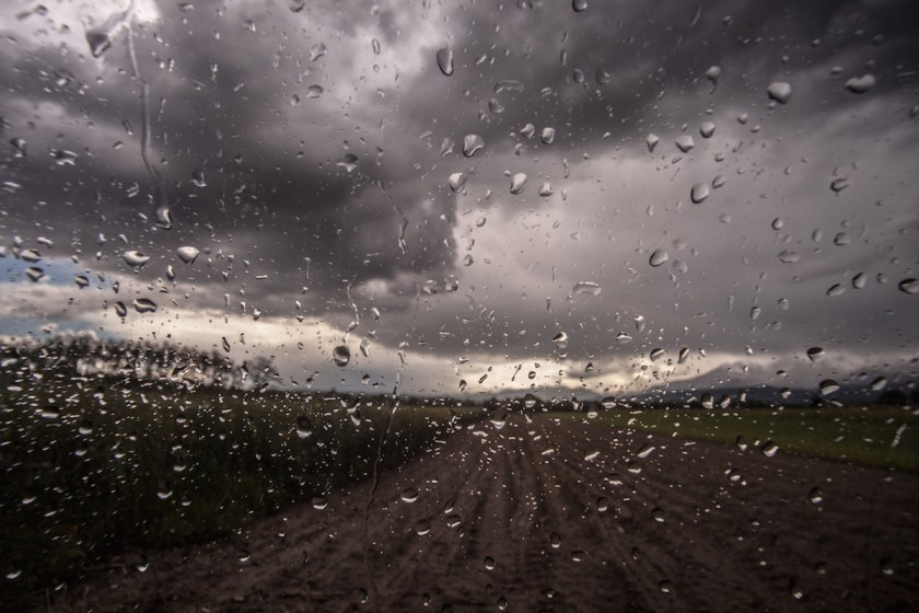 Storm and glass
