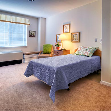 assisted living binghamton area ny good shepherd communities health center endwell bedroom - Good Shepherd Village at Endwell