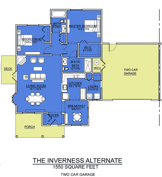 inverness alt garage cottage assisted living floorplan good shepherd endwell - Good Shepherd Village at Endwell