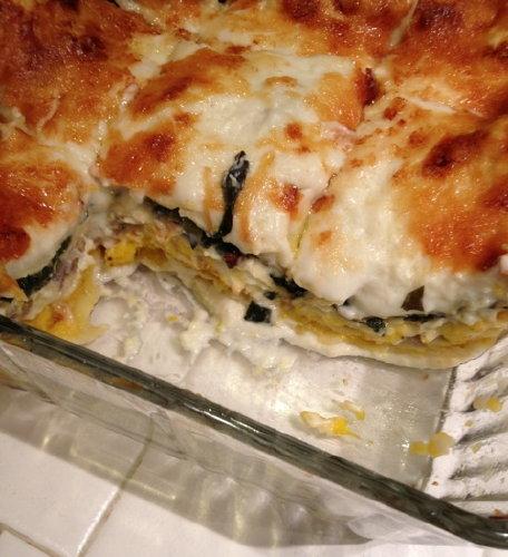 autumn lasagna