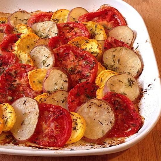 summer vegetable tian