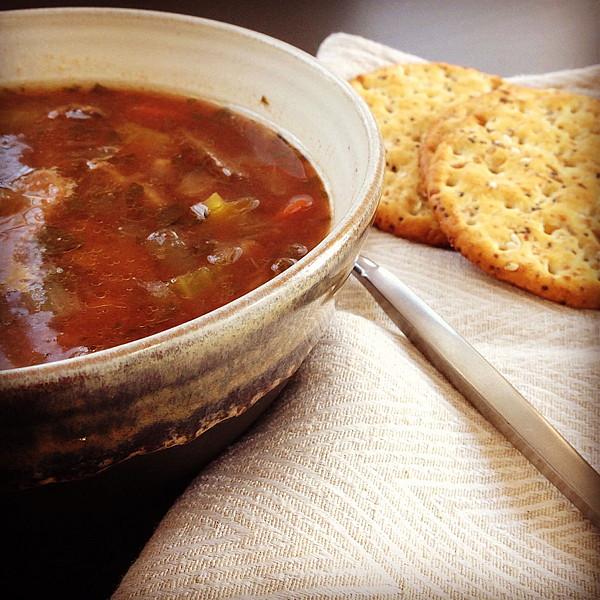 Pot Roast Soup | www.goodstuff.recipes