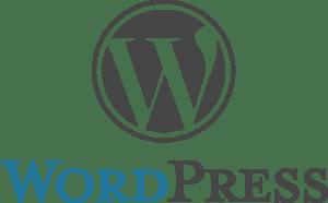 WordPress Website Setup and Maintenance - WordPress Logo