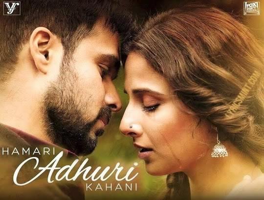 Hamari Adhuri Kahani Gets Slow Start at Box Office