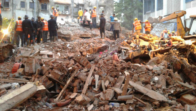 Building Collapses in Thane Killing 8 and Trapping 11