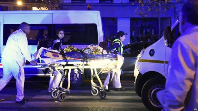 #PRAYFORPARIS; Nearly 140 People Killed in Paris Attack