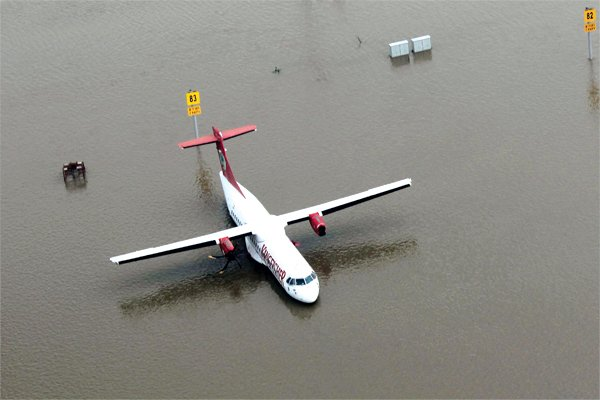 Commercial Flight Operations to Begin Soon; Water Level Declines