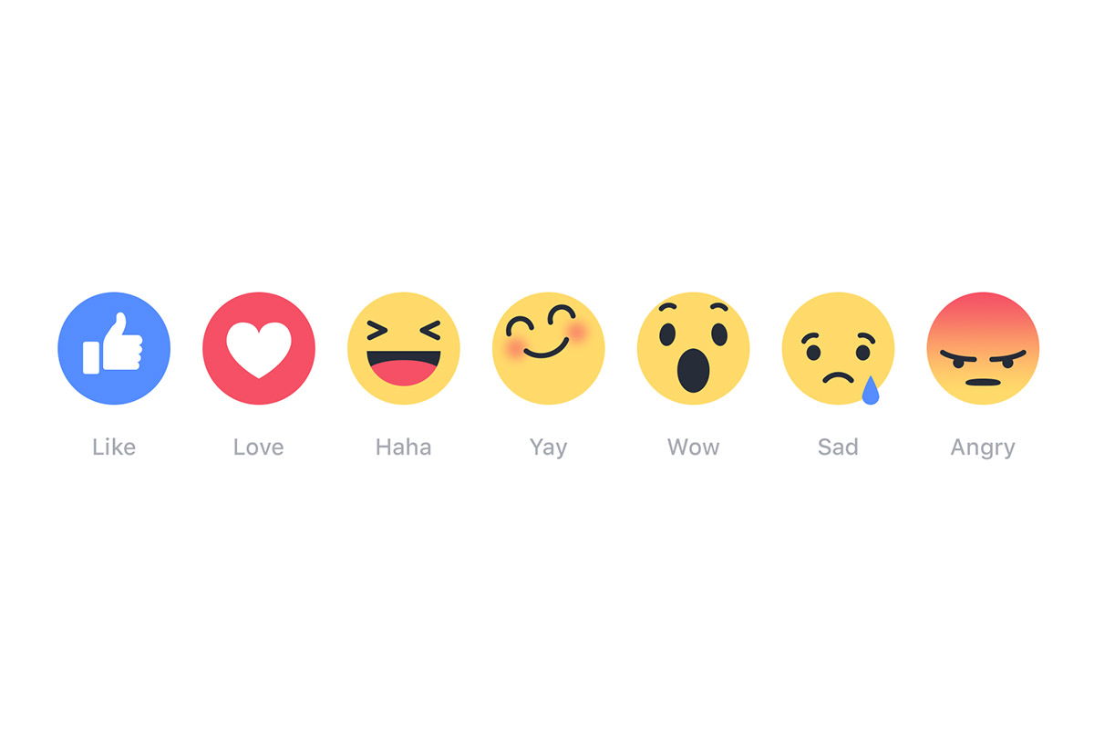 Facebook Launches New Like Buttons World Wide: Facebook Reactions