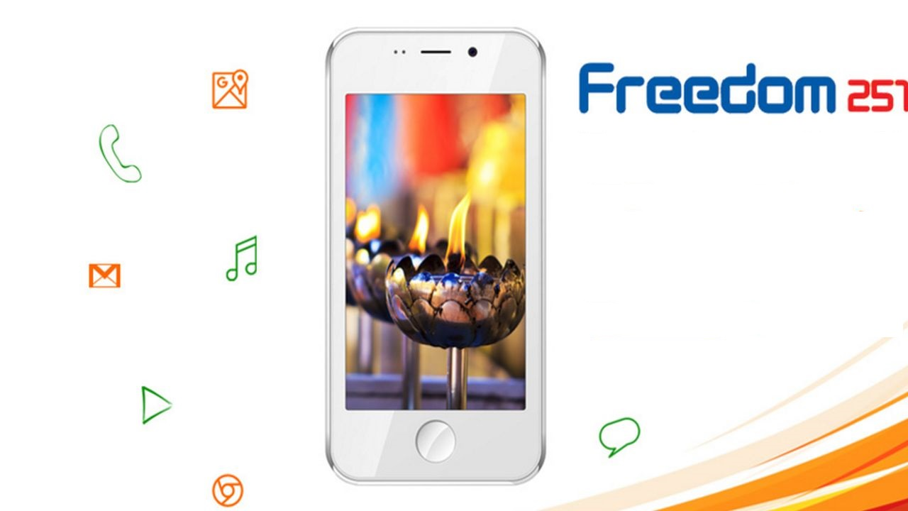 Freedom 251, the world's cheapest smartphone!