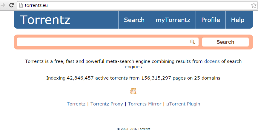 After KickassTorrents, meta-search engine Torrentz.eu quitely shuts down