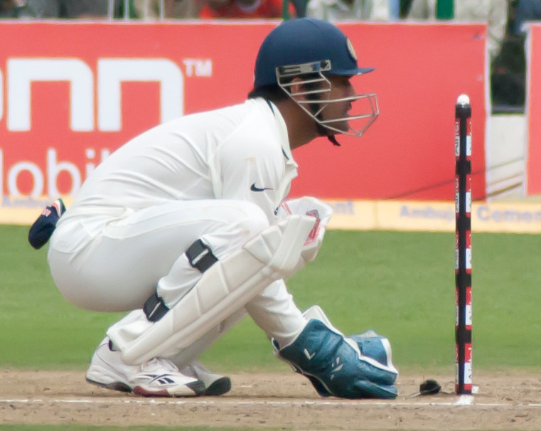 Dhoni's 'Blind' Stumping Repeated See Who Did It This Time?