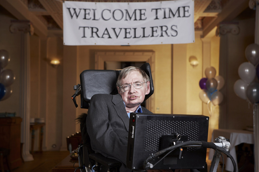 Stephen Hawking will go to space, after the trump, I will not be in the US now