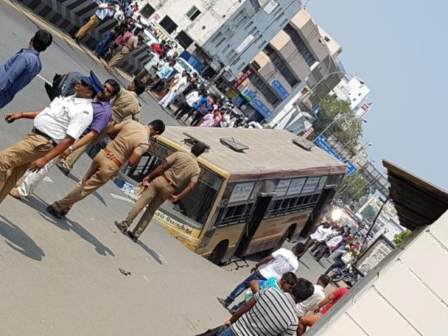 accident in chennai today in gemini bridge